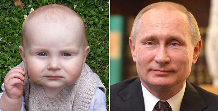My Baby Looks Like A Thoughtful Vladimir Putin