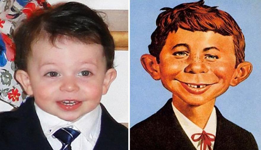 James Looks Like Masbot Boy Alfred E. Newman