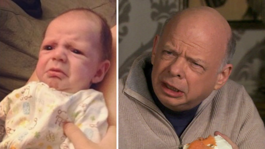 My Friends Baby Looks Like Wallace Shawn