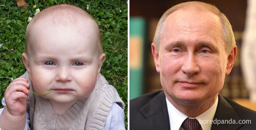 8 My Baby Looks Like A Thoughtful Vladimir Putin
