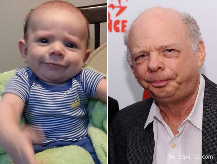 3 Friend S Baby Looks Like Wallace Shawn
