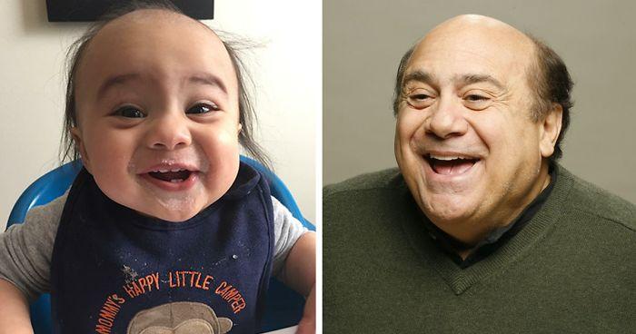 15 Bebés que se parecen a celebridades