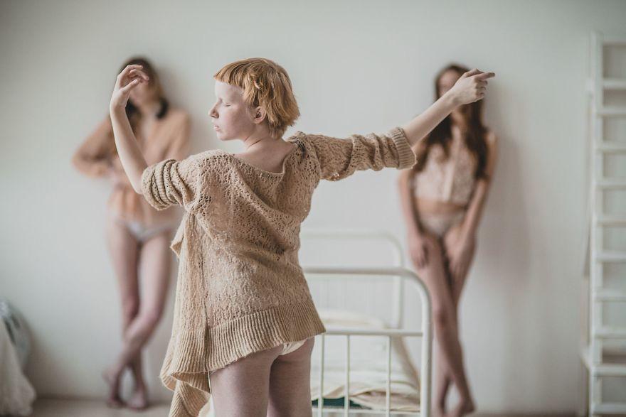 Albino Ballerina