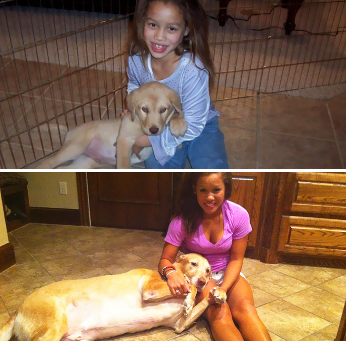 Dogs Are Family For Life. Sam And Savannah