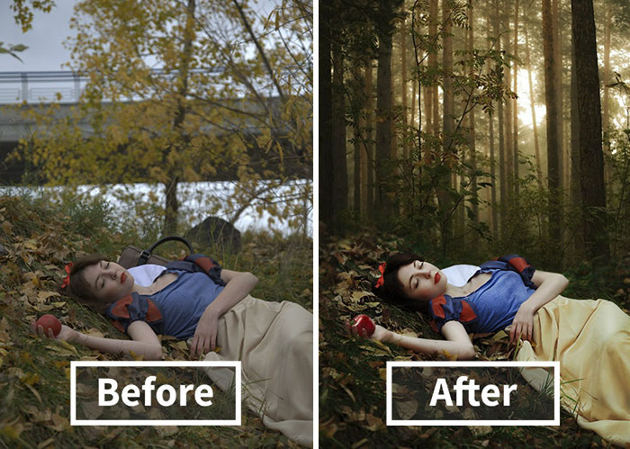10+ Pics Before And After Photoshop Reveal The Truth Behind Beautiful Photos
