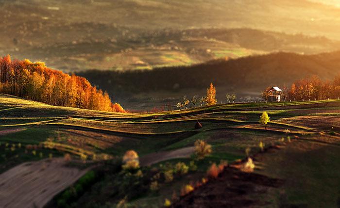 He fotografiado un otoño de ensueño en Rumanía con una cámara de 250$