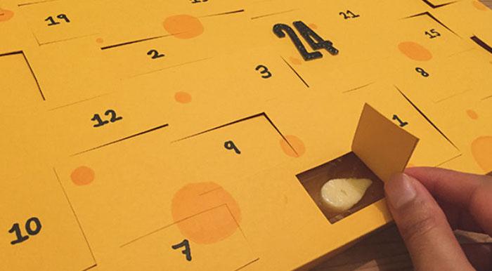 Olvídate del chocolate, lo último son los calendarios de Adviento con queso