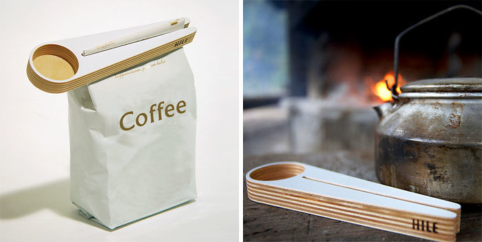 Coffee Scoop And Bag Closer