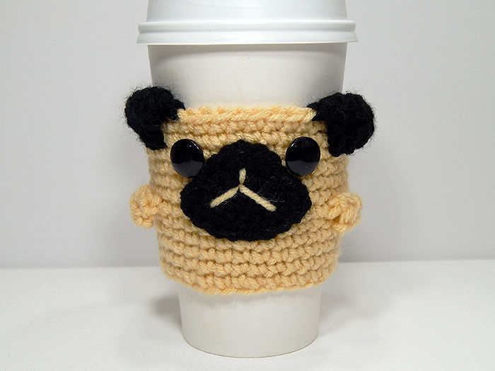Pugsly The Coffee Cozy