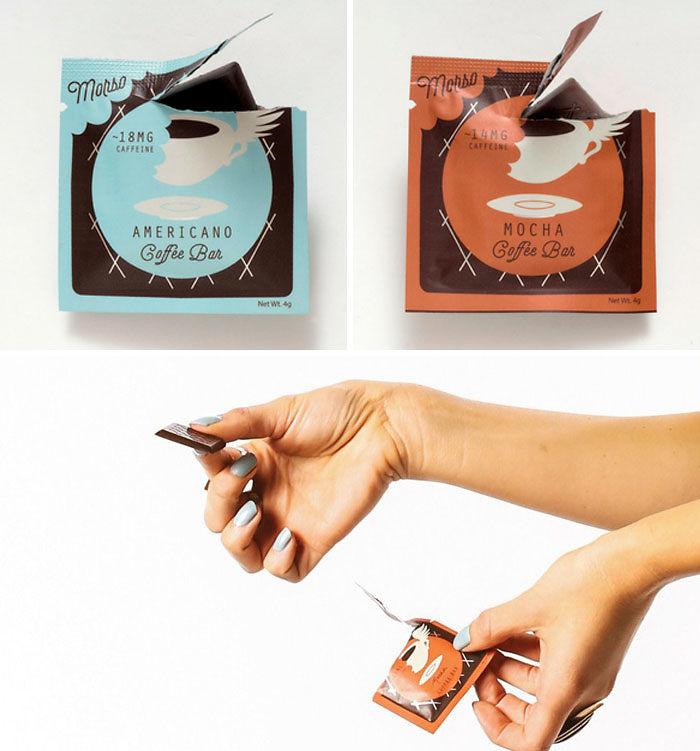 Caffeinated Chocolate Bars