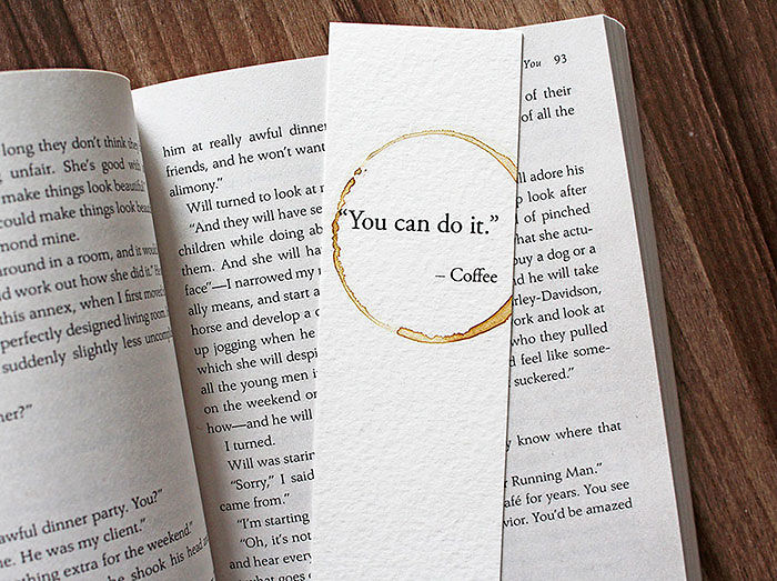 You Can Do It Coffee Bookmark