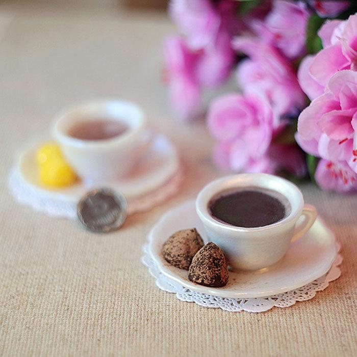 Handmade Soap Cup Of Coffee