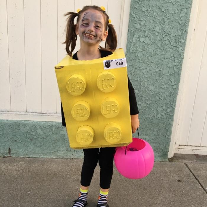 Lego Zombie Costume!