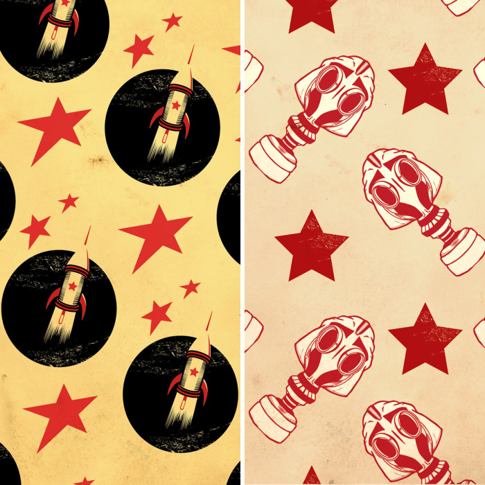 I Created These Patterns Inspired By Russian Constructivism