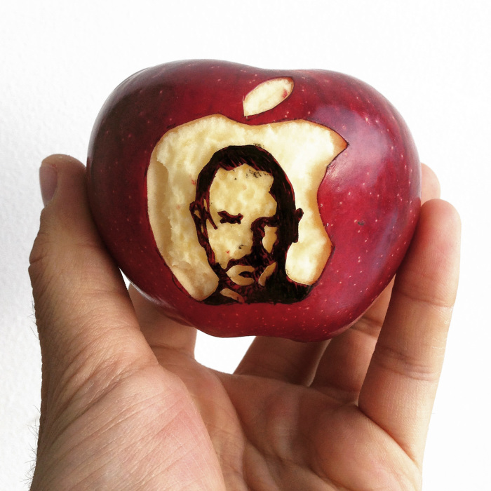 I 'Draw' On Apples
