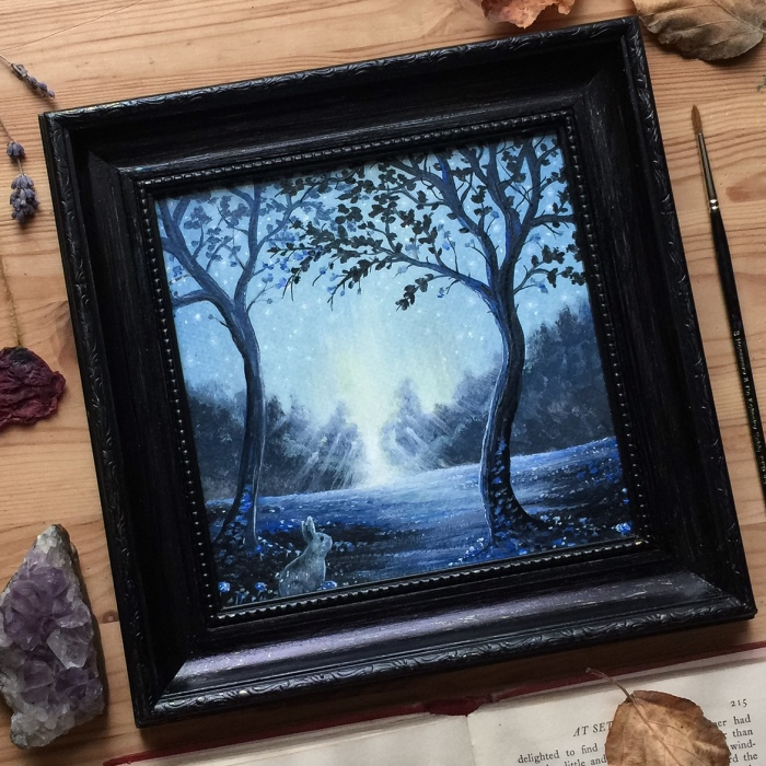 I Love To Paint Only From My Imagination To Bring To Life An Imaginary World