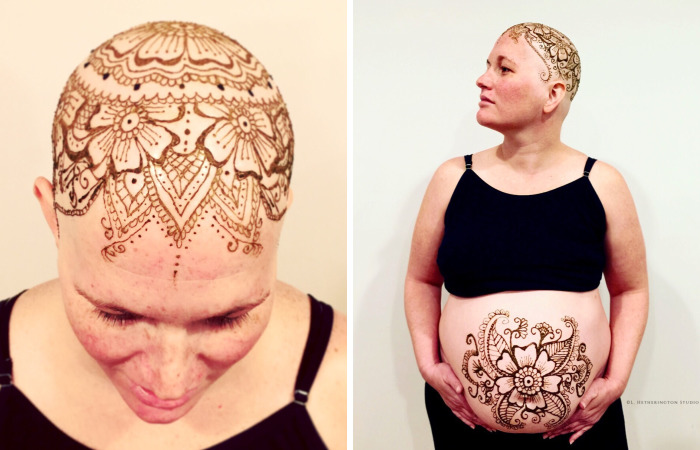 I'm Doing Free Henna Crowns On Chemo Patients To Bless Them