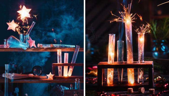 I Photograph Festive Still Lifes With Sparkles!