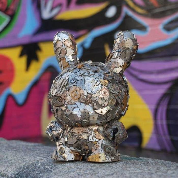 Artist Creates These Funky Steampunk Vinyl Toys