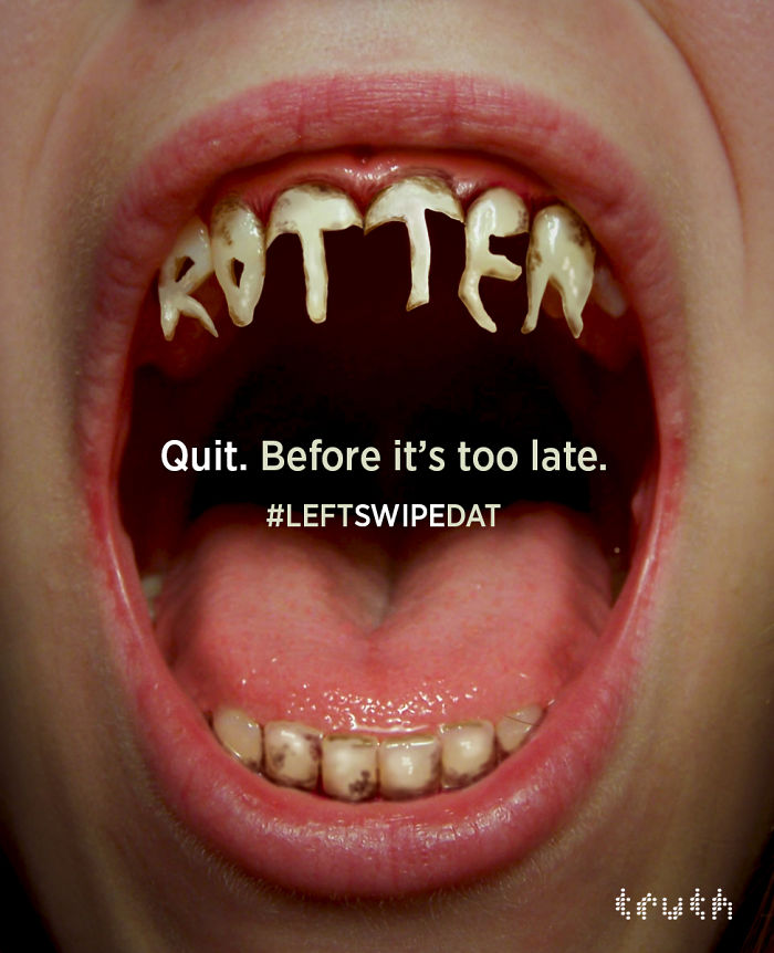 Quit. Before It's Too Late