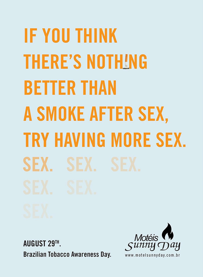 More Sex, Less Cigarette
