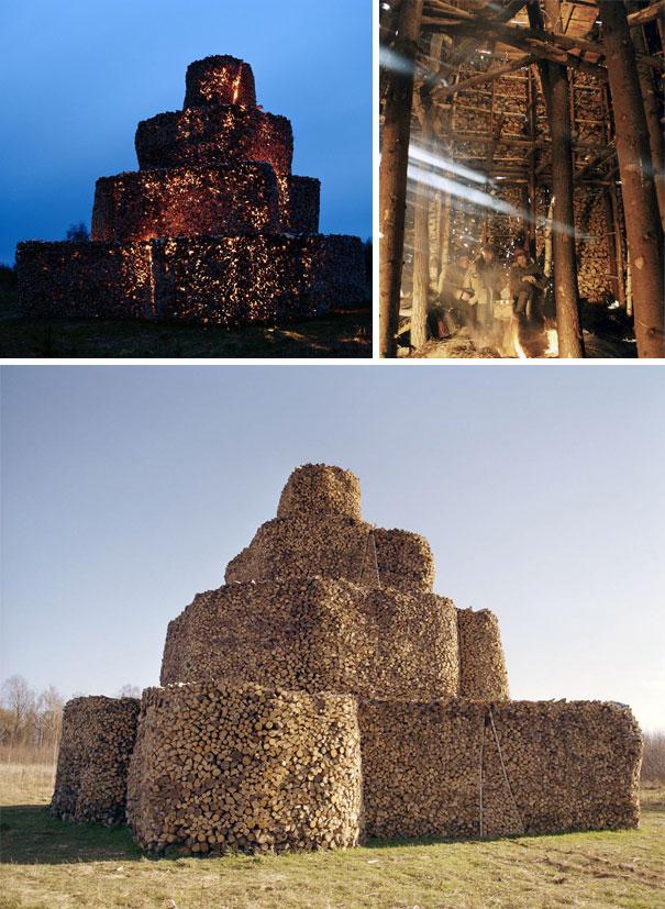 Firewood Tower