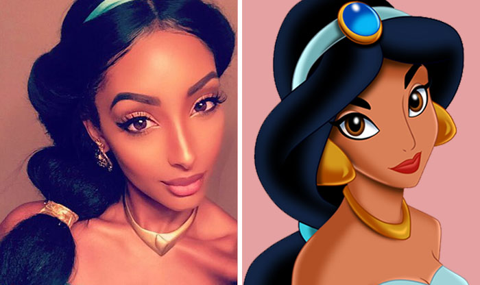 This Girl Looks Like Real-Life Disney Princess Jasmine