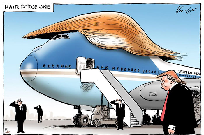 Trump Caricature