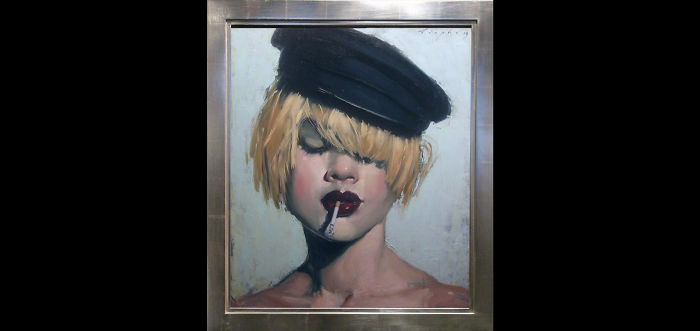 The Wet-On-Wet Paintings Of Malcom T. Liepke Will Make You Find 'juicy' Beautiful.