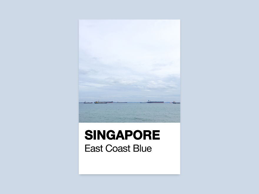 Blue, East Coast Park