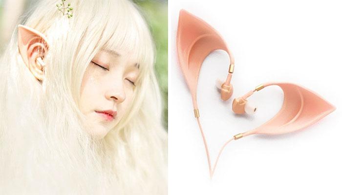 Estos auriculares de silicona te convertirán en un elfo