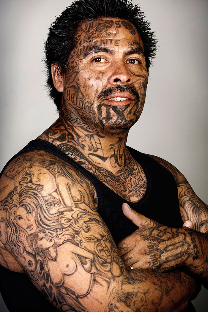 9 Ex Gang Members With Their Tattoos Removed Bored Panda
