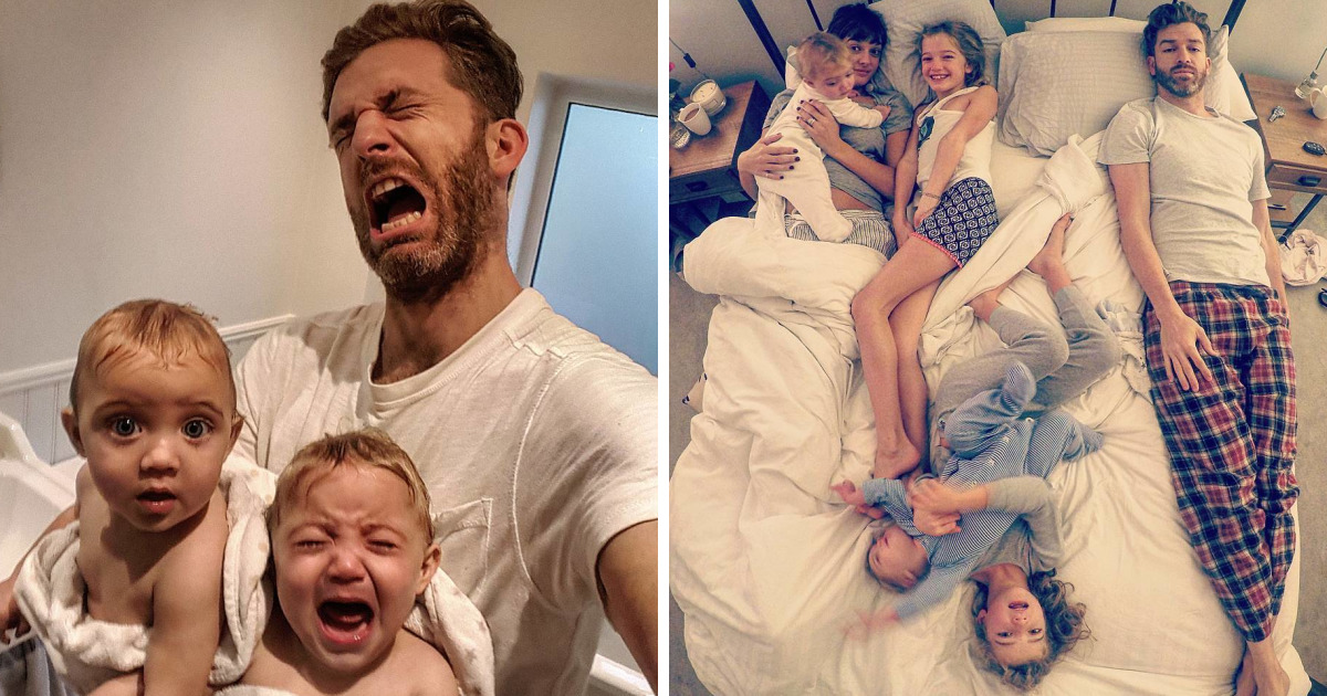 Father Of 4 Daughters Refuses To Sugarcoat His Instagram Pics, Takes  Internet By Storm | Bored Panda