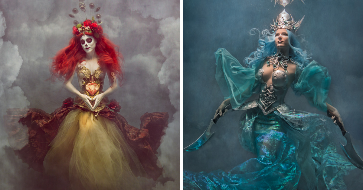 I Shoot Dramatic Underwater Portraits That Are Reflective Of Overcoming Troubles In My Life
