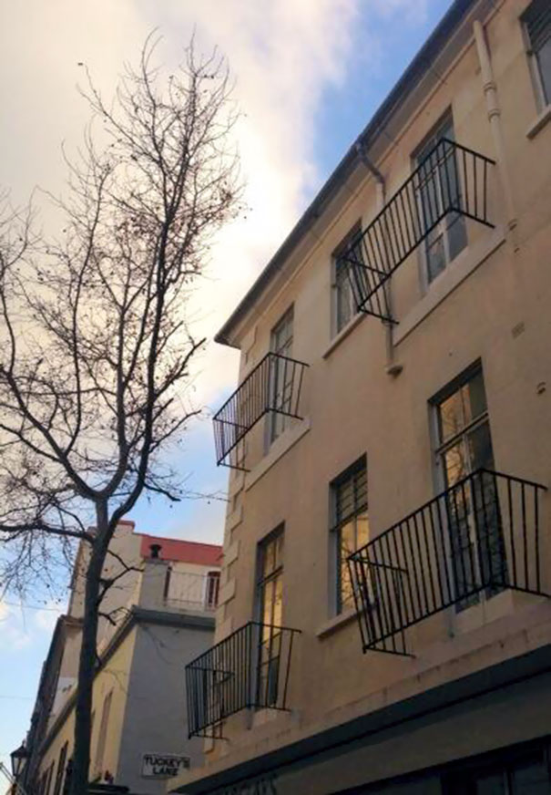 The World's Worst Balcony
