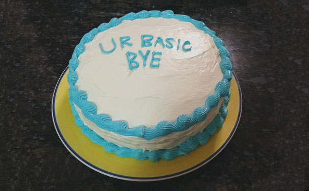 Goodbye Cake Images : 15+ Hilarious Farewell Cakes That Employees Got On Their ...