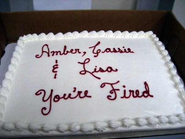Amber, Cassie And Lisa, You're Fired