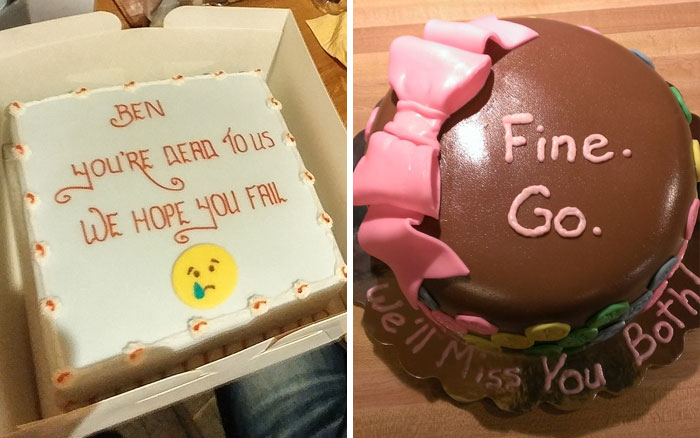64 Hilarious Farewell Cakes That Employees Got On Their Last Day At The Office