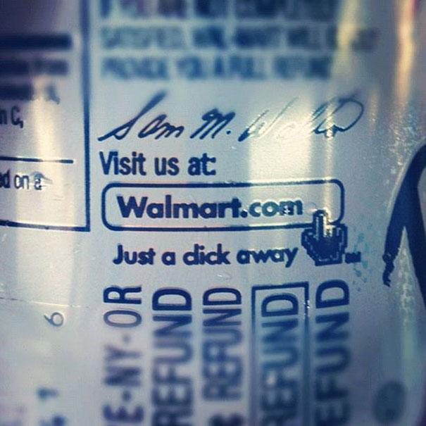 Hey Walmart... Kerning Is Important