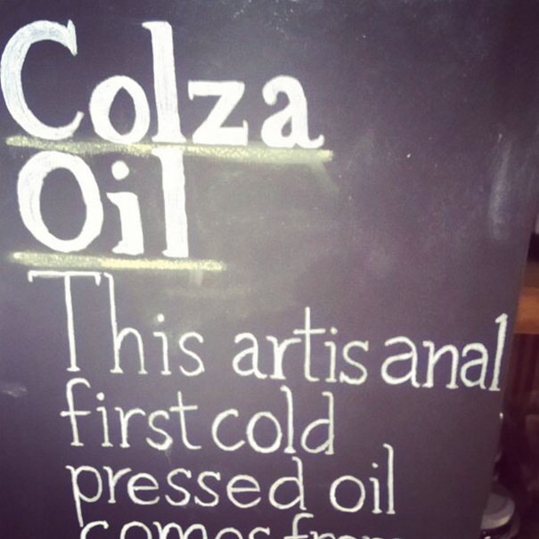I Don't Think I Would Trust This Colza Oil