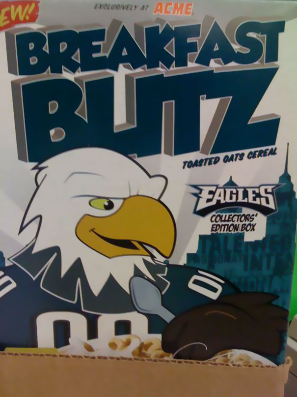 Breakfast Butz. Start Your Day Off With A Kick In The Ass (by An Eagle)