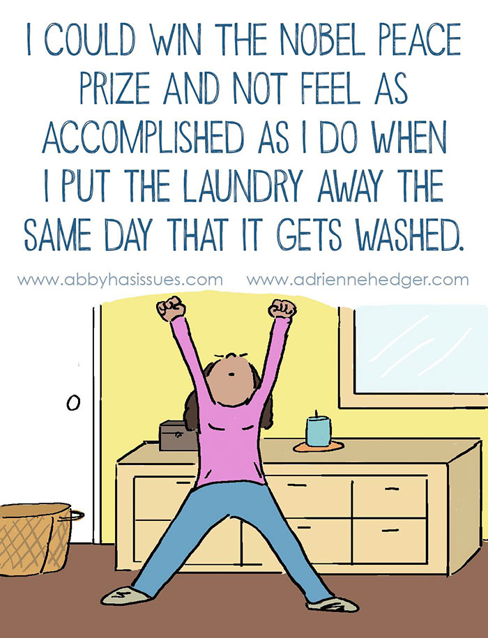 humor cartoons funny mom comics parenting hedger ever hilarious feels single laundry illustrations parents demilked magazine sum married