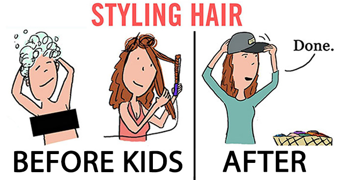 91 Hilarious Cartoons That Sum Up What It's Like To Be Married with Kids