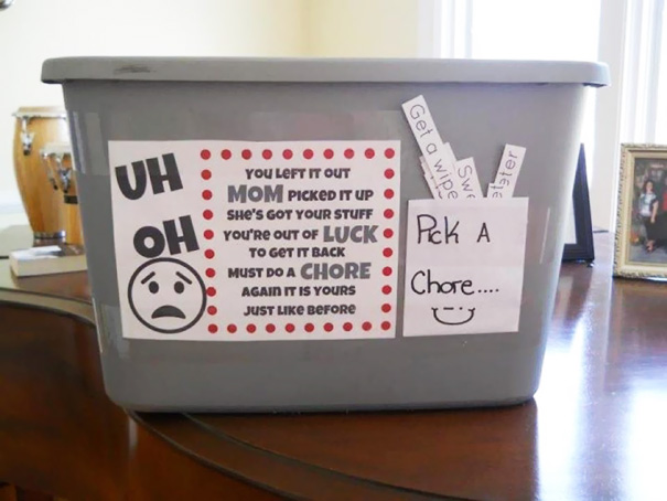 Pick Up Chore Box