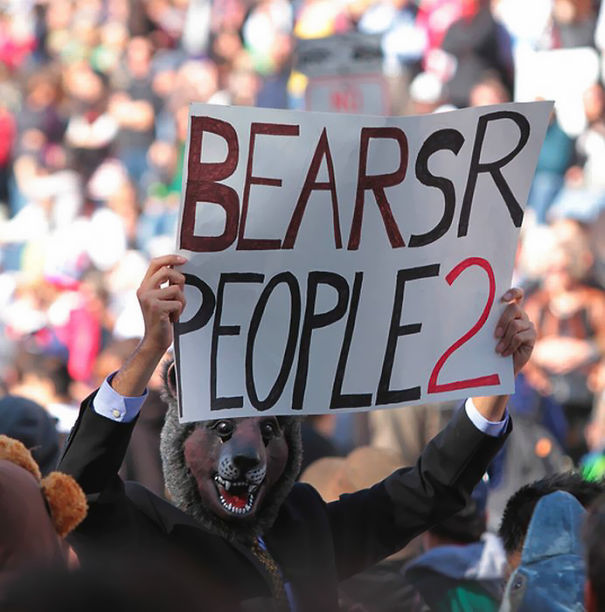 Bears Are People Too