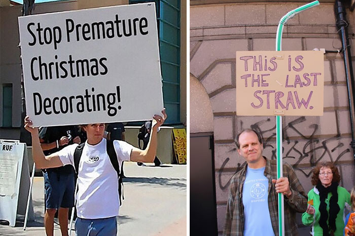 15+ Of The Funniest Protest Signs Ever