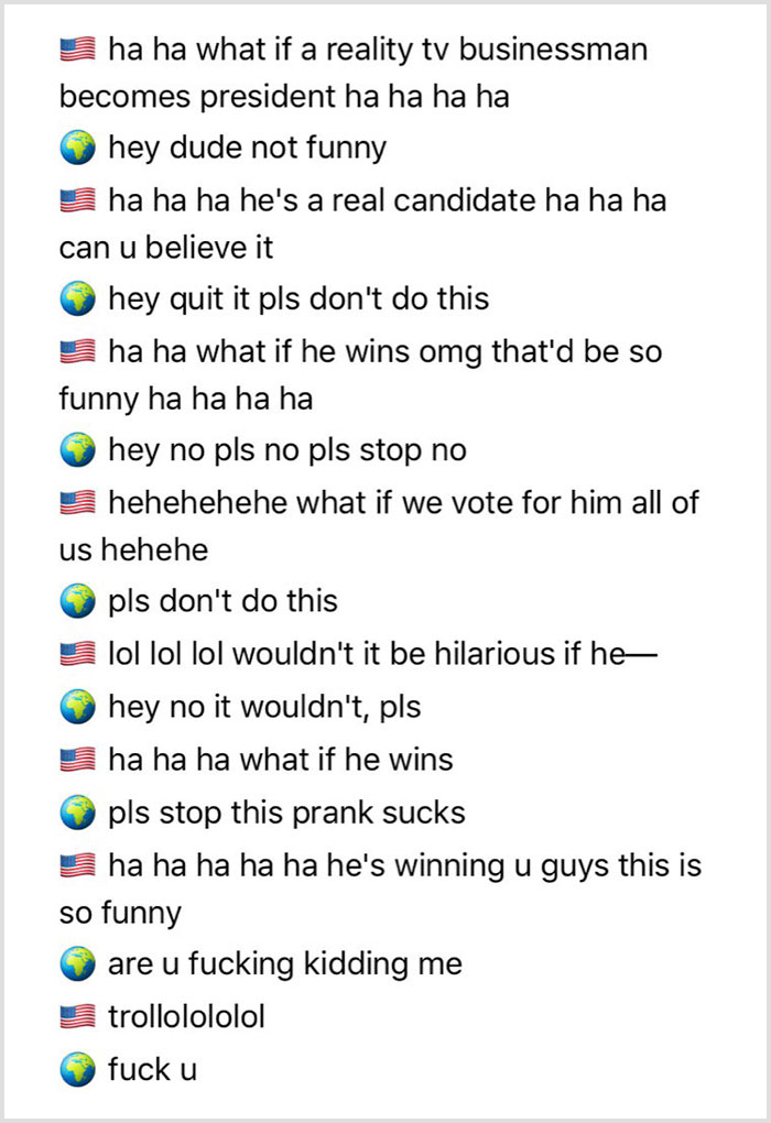 America –– Officially That One Friend Who Takes The Joke Way, Way, Way Too Far