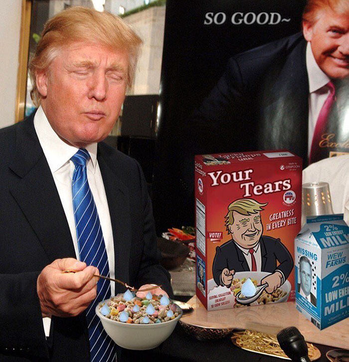 I guess there's a new cereal I'm supposed to try?
