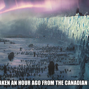 Meanwhile At Canadian Borders...