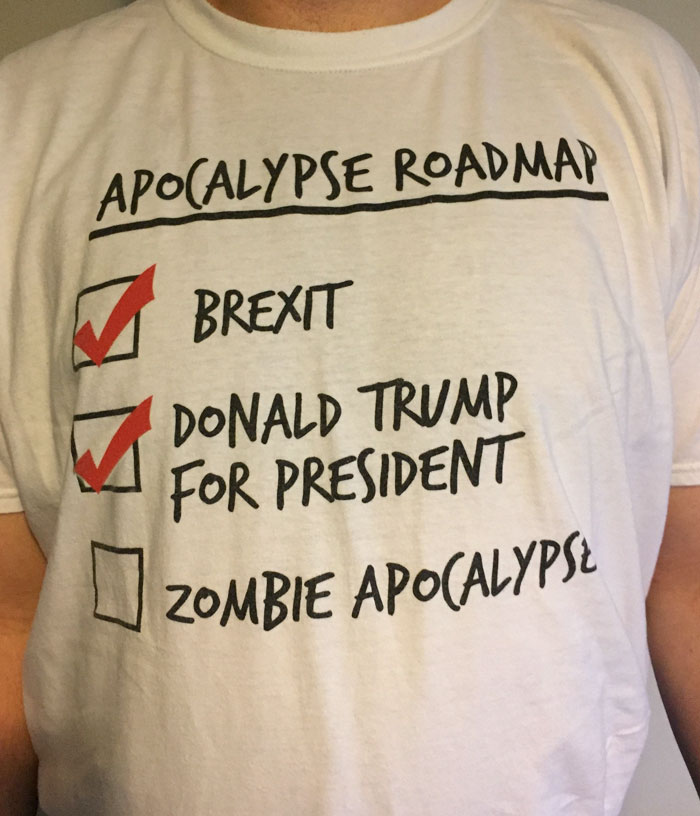 I Bought This T-Shirt As A Joke. What Have You Done America?